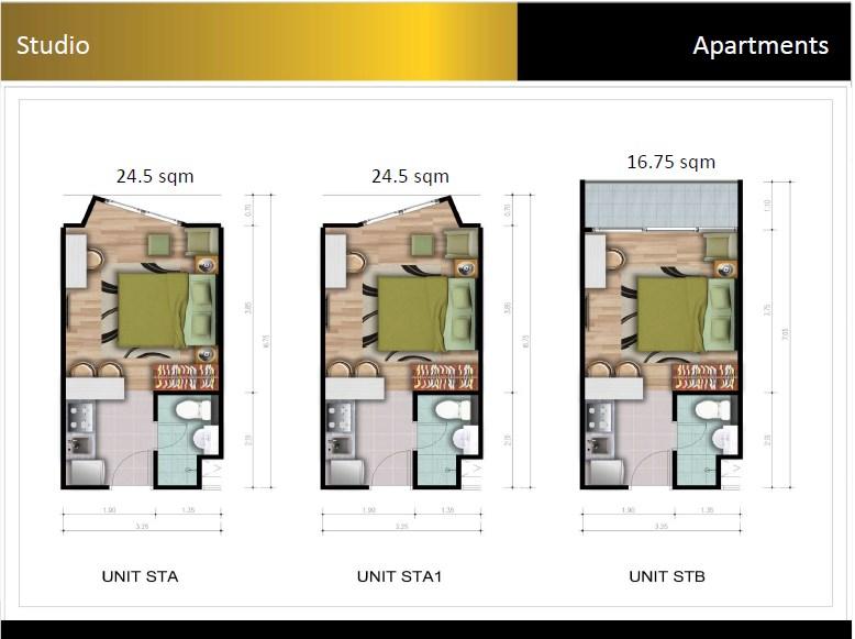 Padina Residence Type 1 Bedroom
