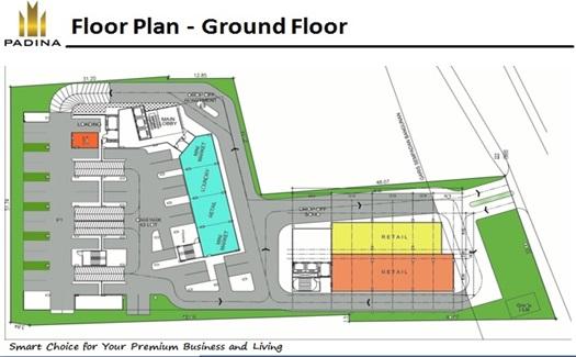 floor plant ground floor