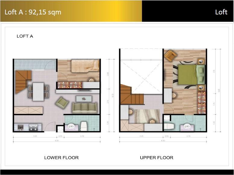 Type Loft A Padina Residence