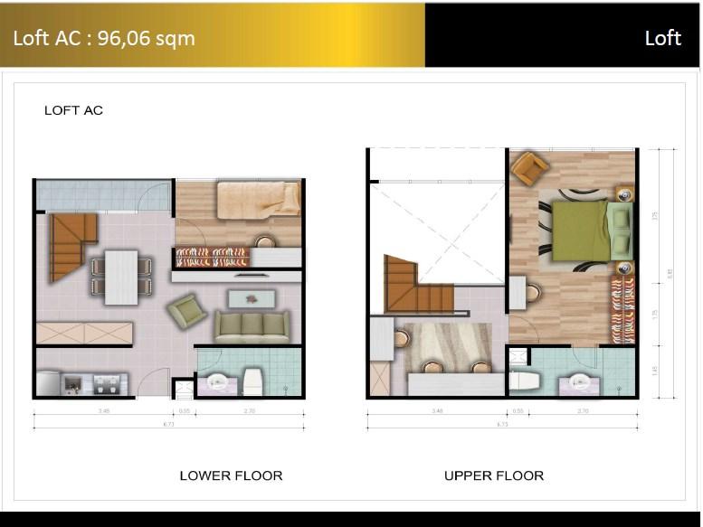 Type Loft AC Padina Residence