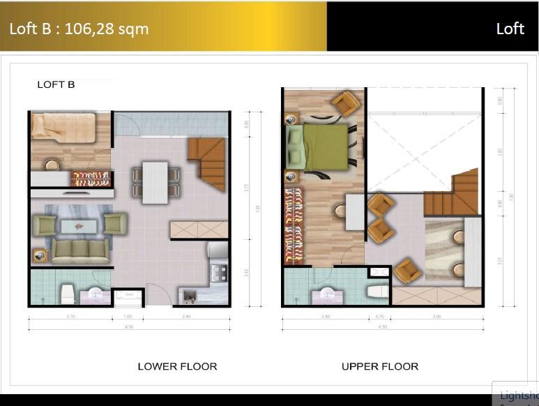 Type Loft B Padina Residence