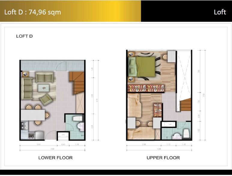 Type Loft D Padina Residence