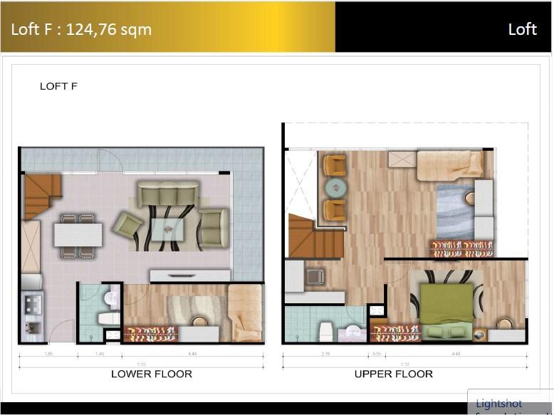 Type Loft F Padina Residence