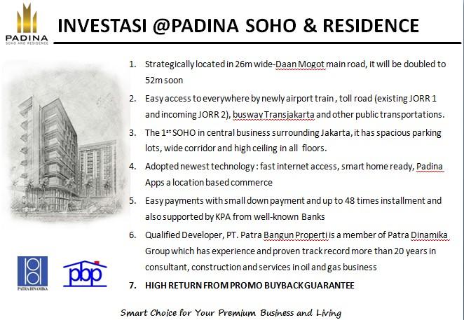 Investasi Padina